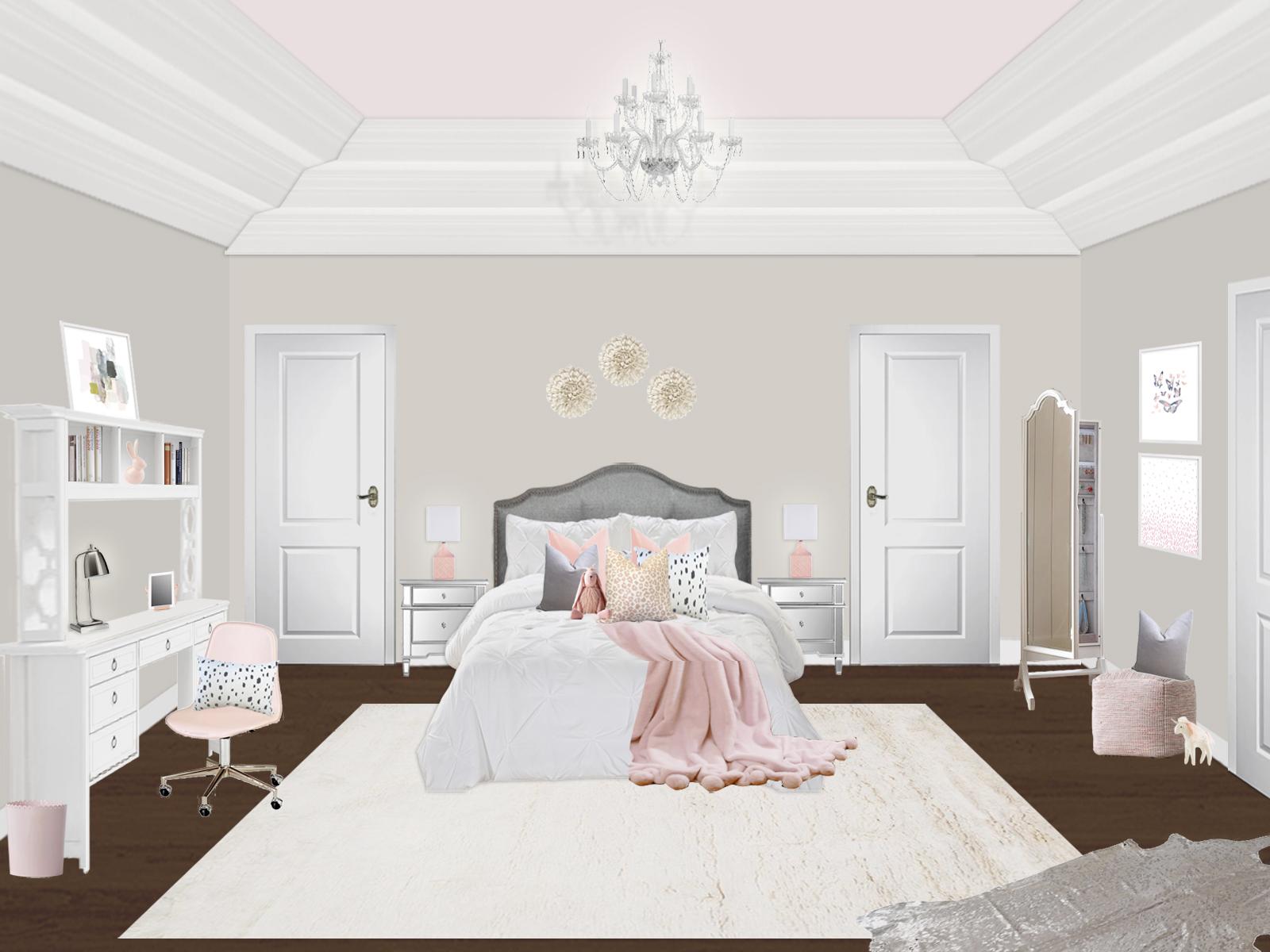 Girl's Room E-Design | Little Crown Interiors