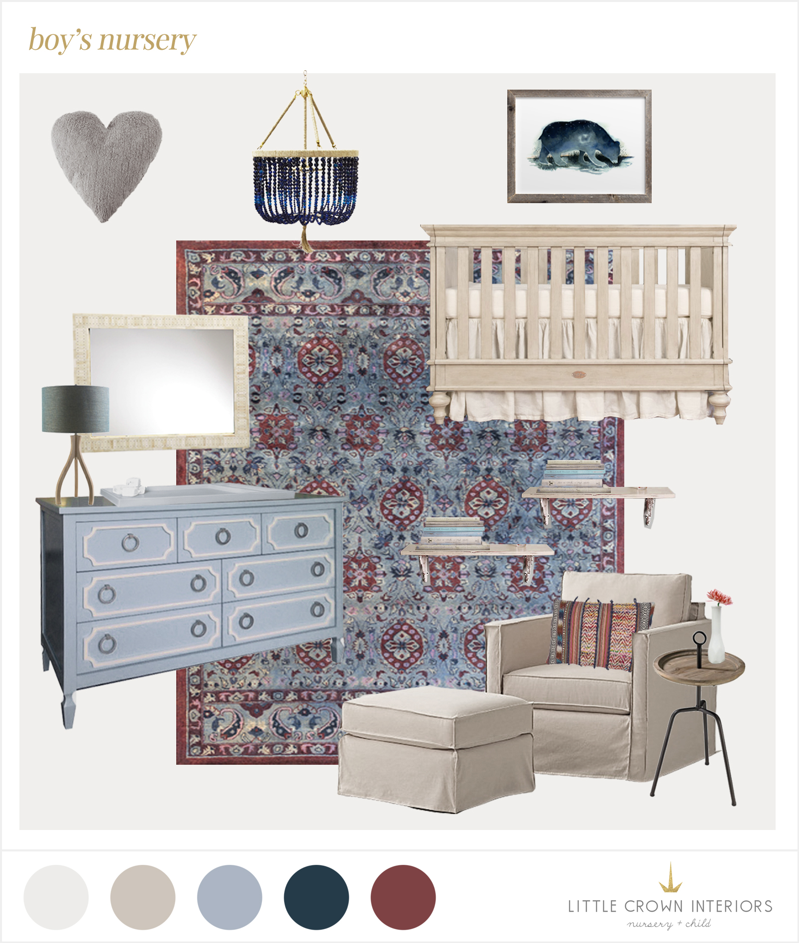 boy nursery edesign