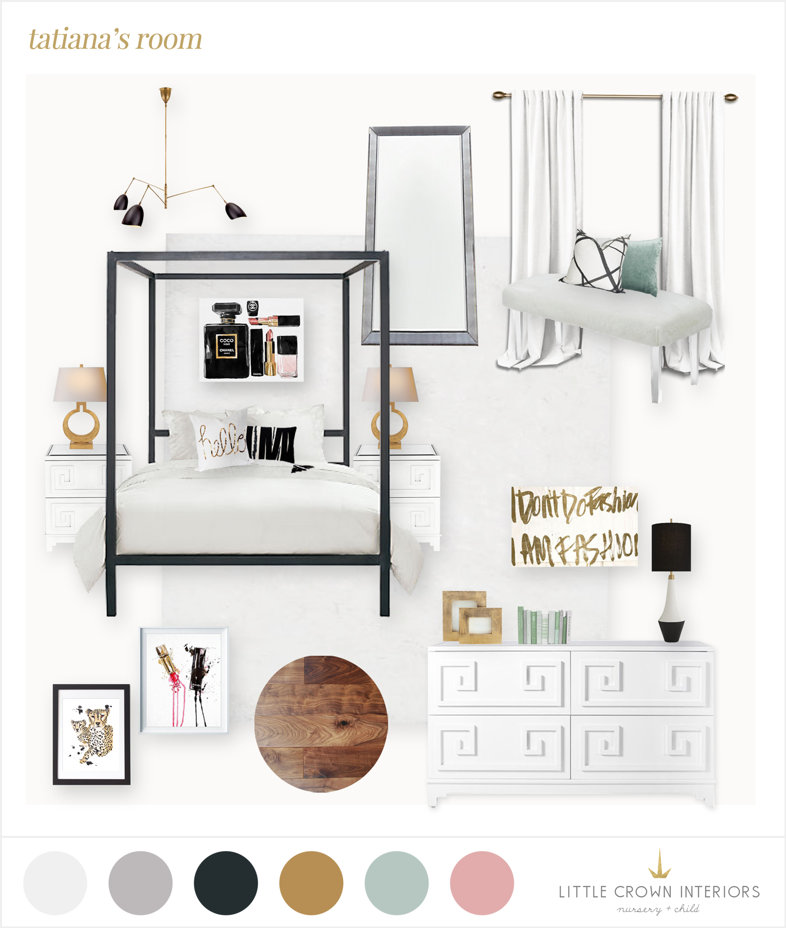 girl bedroom edesign