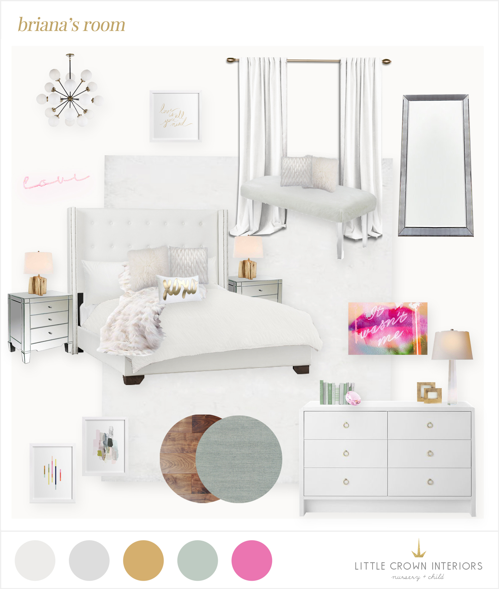 girl's room e-design
