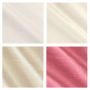 Silk Ivory and Coral Crib Bedding