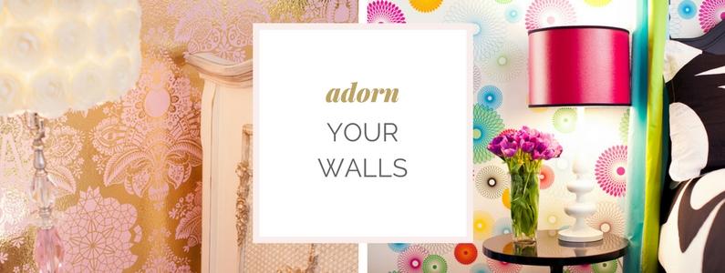 Los Angeles Nursery Design | Custom Wallpaper