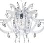 crystal acrylic nursery chandelier