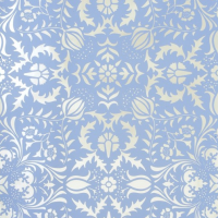 nursery silver damask wallpaper