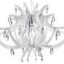 acrylic crystal nursery chandelier