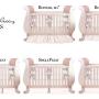 nursery custom crib bedding