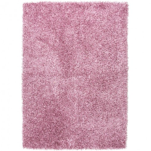 Light Pink Shag Rug Nursery
