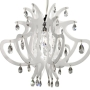 crystal acrylic nursery chandelier