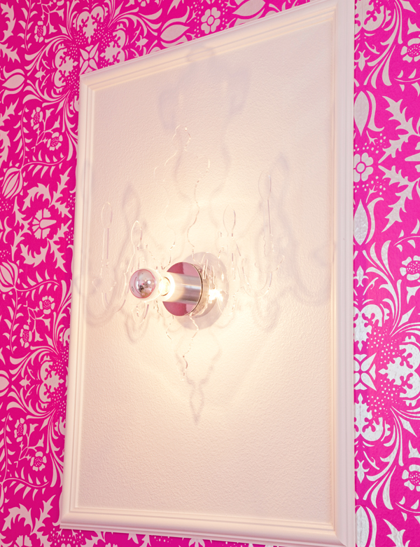 acryic wall sconces