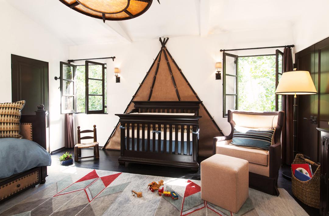 Rustic boy 39 s nursery by little crown interiors - Little crown interiors ...