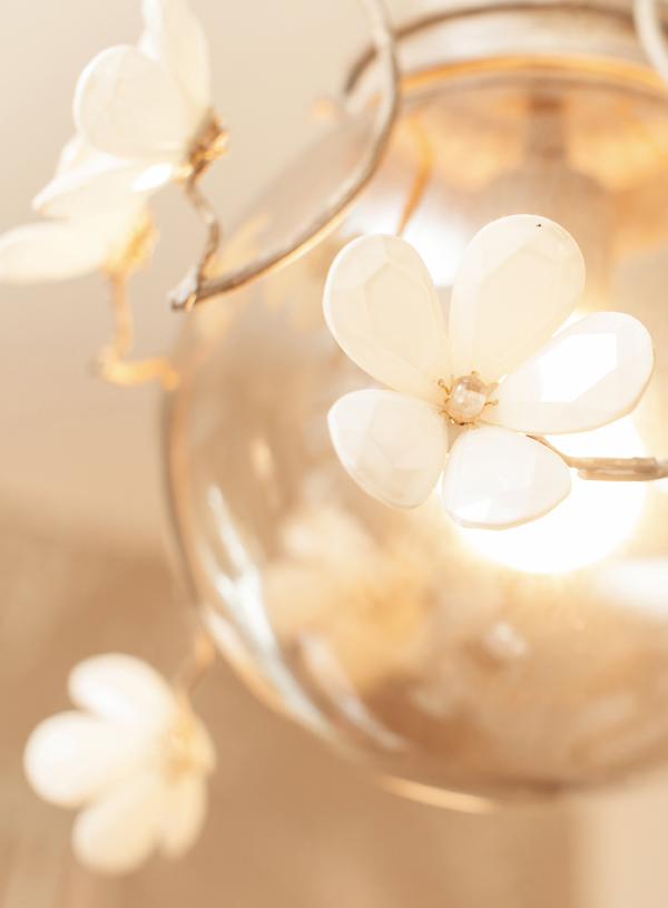 crystal nursery chandelier