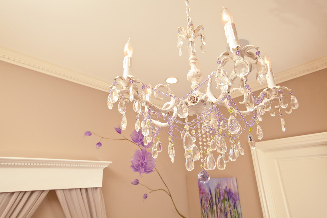 custom nursery chandelier