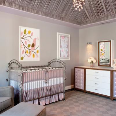 lavender crib bedding