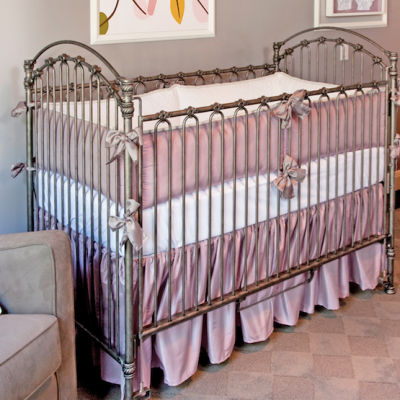 lavender crib bedding