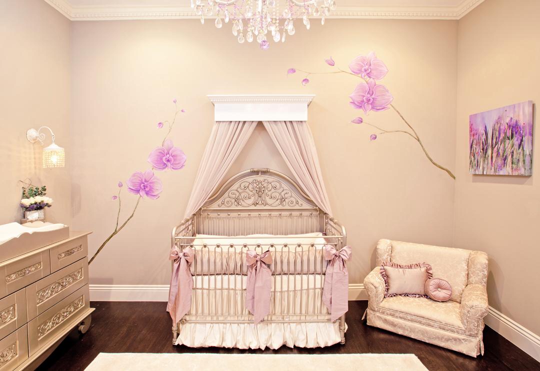 Mel B's celebrity nursery