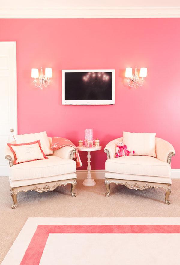 pink coral nursery