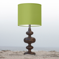 green nursery table lamp
