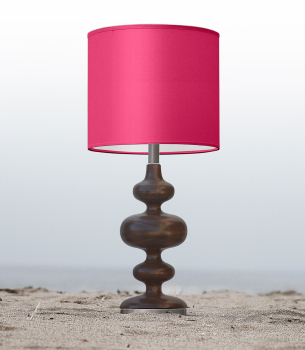 Hot Pink Nursery Table Lamp