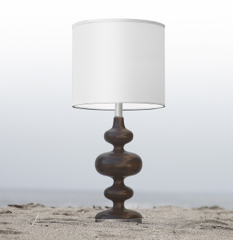 wood nursery kids lamp