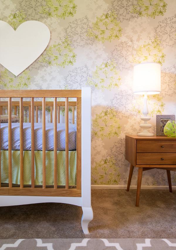 green modern nursery