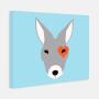 Modern Kangaroo Nursery Art