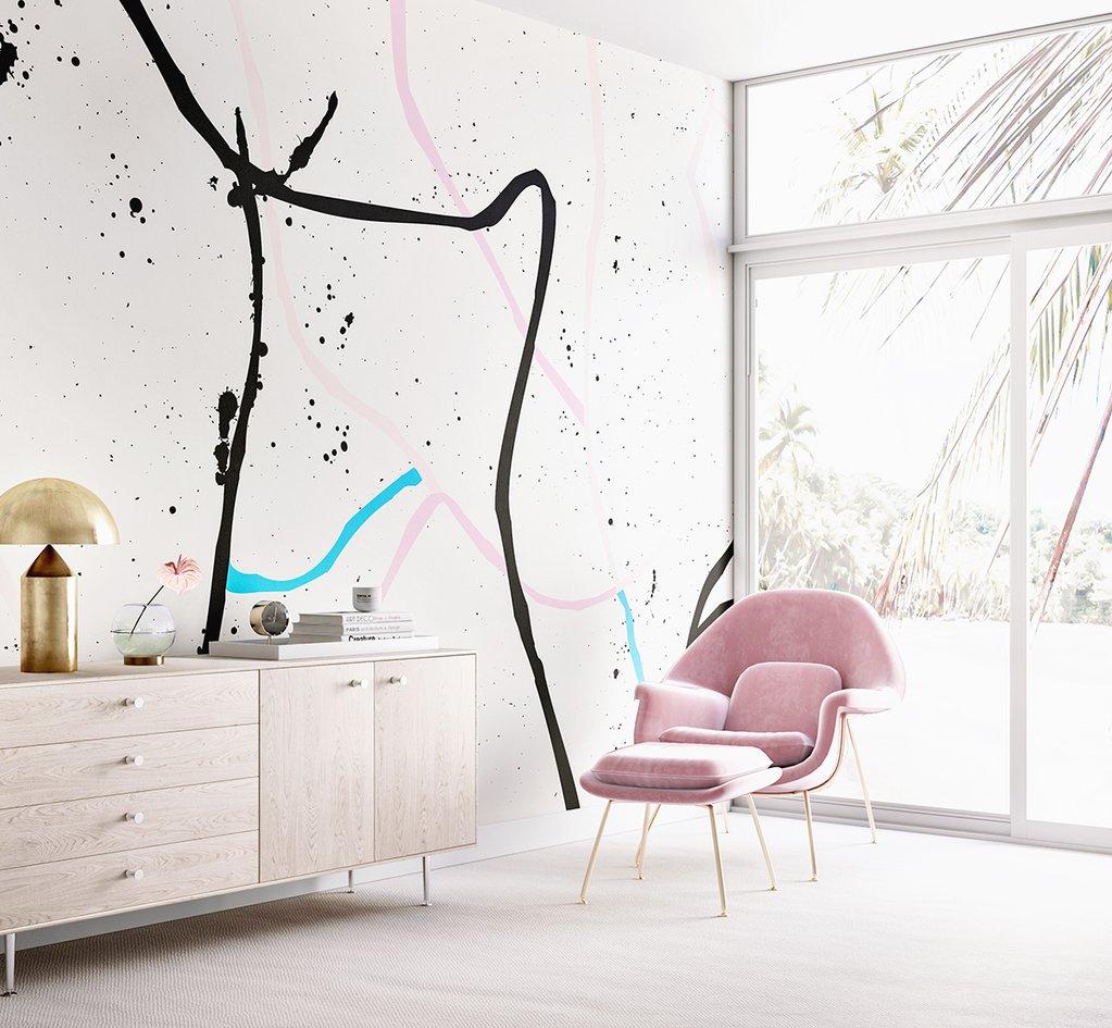 Girl's Nursery Inspiration from Wallpaper   Little Crown Interiors