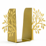 Metallic Gold Tree Bookends