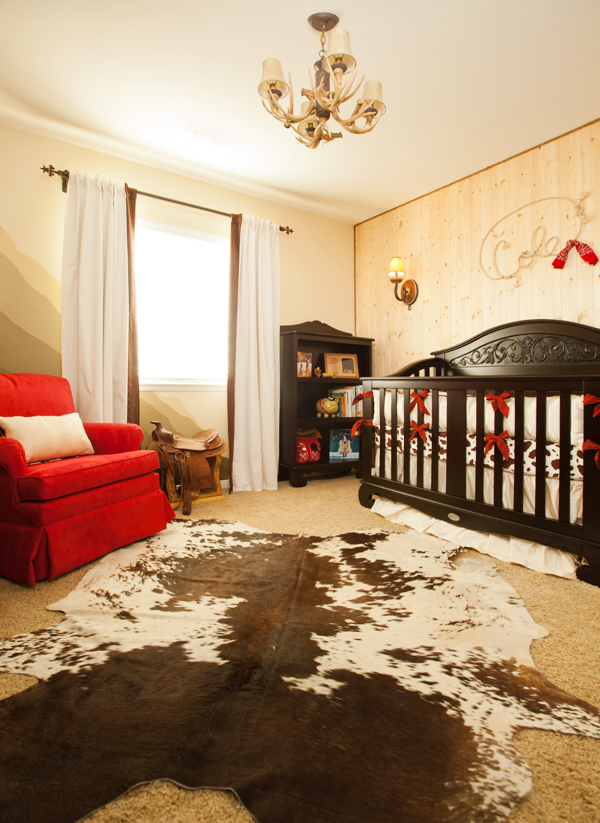 red brown western nursery
