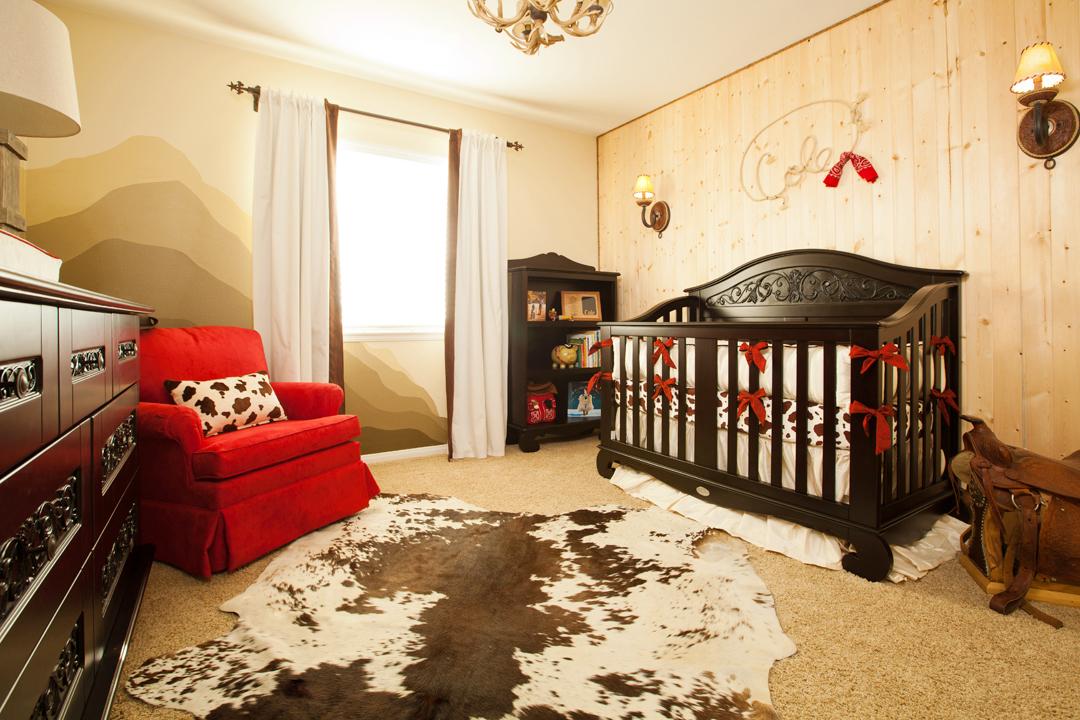 Western themed nursery by little crown interiors - Little crown interiors ...