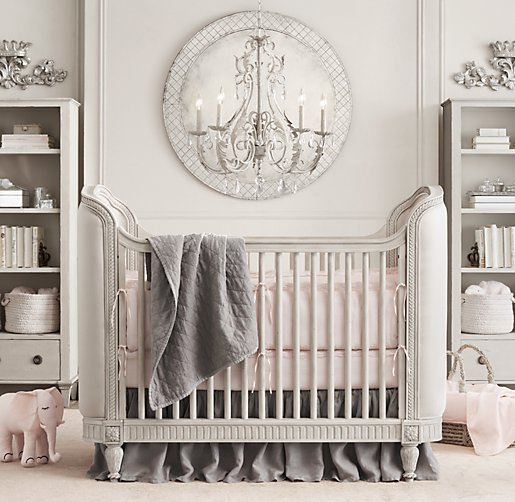 Get Gorgeous with an Upholstered Crib