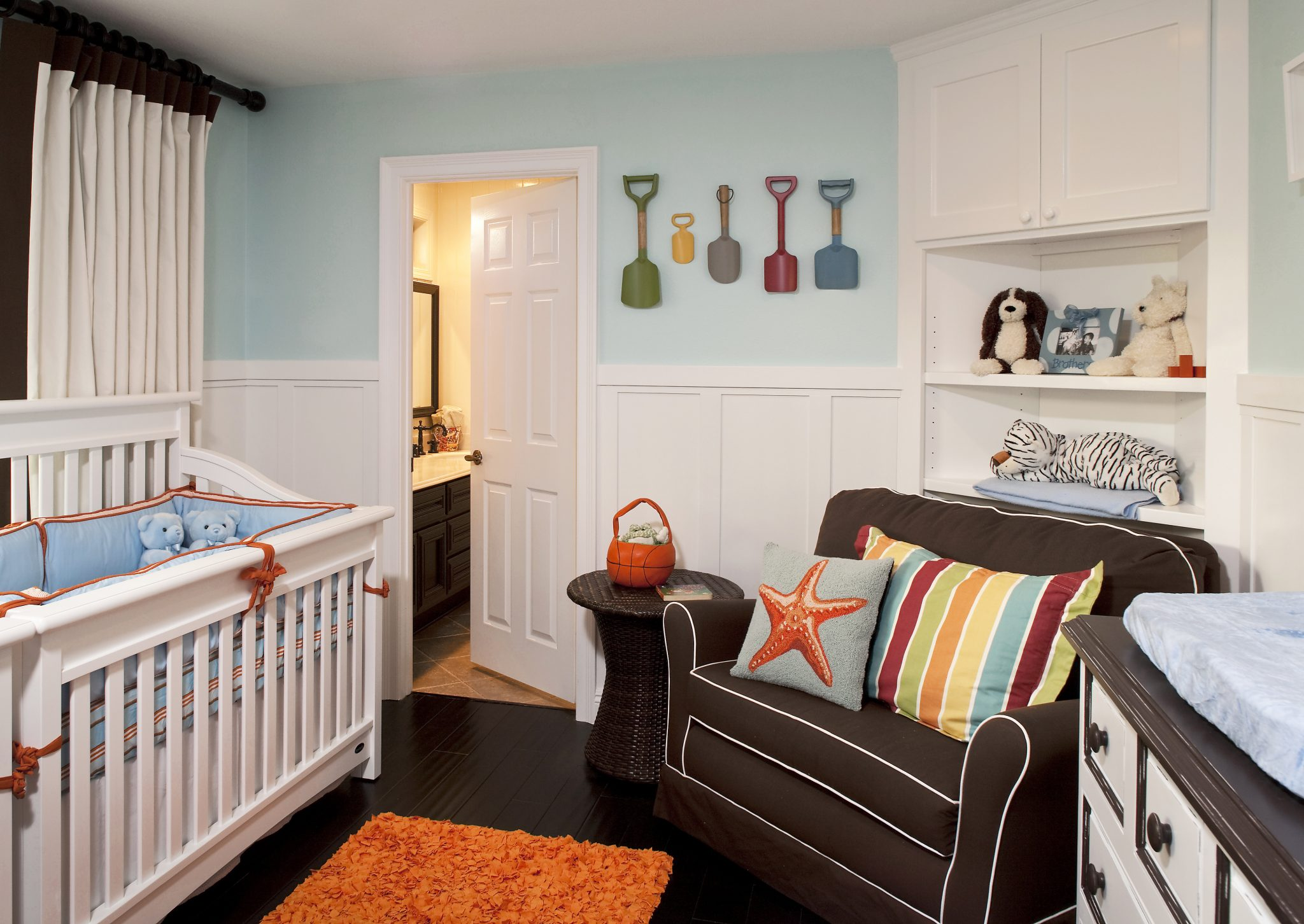 Marvelous Nursery for twins by Little Crown Interiors