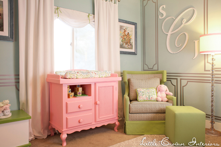 Laila Ali 39 S Pastel Nursery By Little Crown Interiors