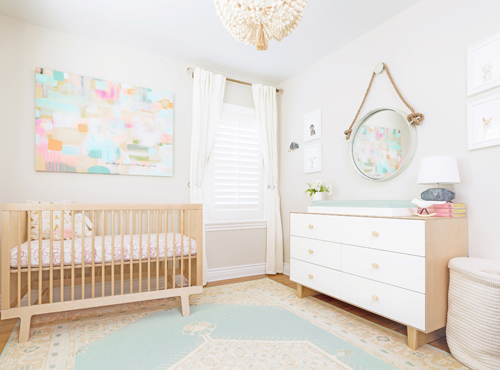 Nursery Interior Design in Orange County | Little Crown Interiors