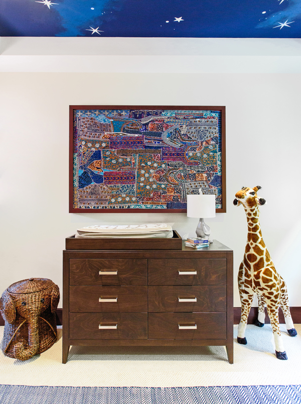 modern safari nursery