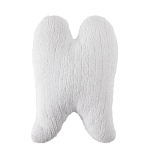 white wings pillow