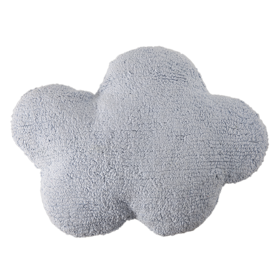 blue cloud pillow