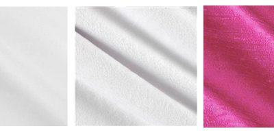 Hot Pink Silk Crib Bedding Fabrics
