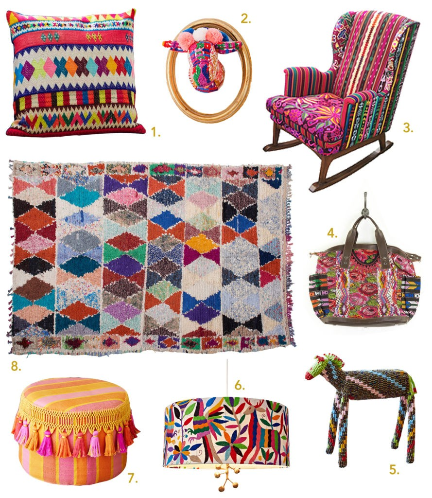 woven patterns home decor