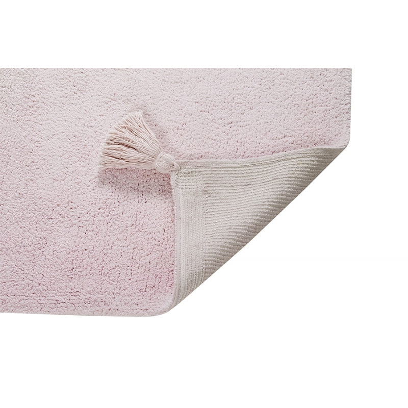 Washable Ombre Rug - Vanilla And Pink