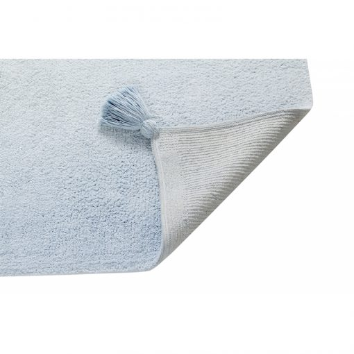 ... Baby Blue Ombre Rug