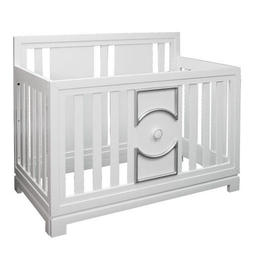 Hollywood regency crib