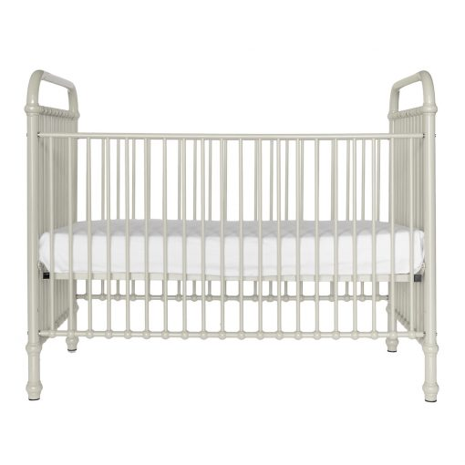Metal Ivory Crib | Little Crown Interiors Shop