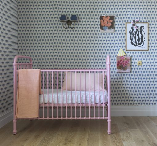 Metal Pink Crib | Little Crown Interiors Shop