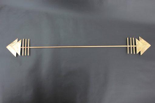 brass arrowhead wall hanging
