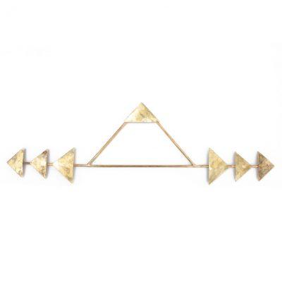 brass arrow wall hanging