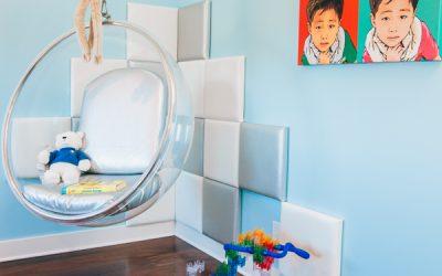 Modern Boy's Bedroom Reveal in Beverly Hills