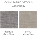 Como Glider Colors | Little Crown Interiors