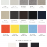 Vola Modern Glider Colors | Little Crown Interiors