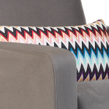 Missoni Glider Pillow | Little Crown Interiors