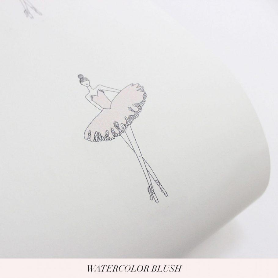 ballerina wallpaper little crown interiors